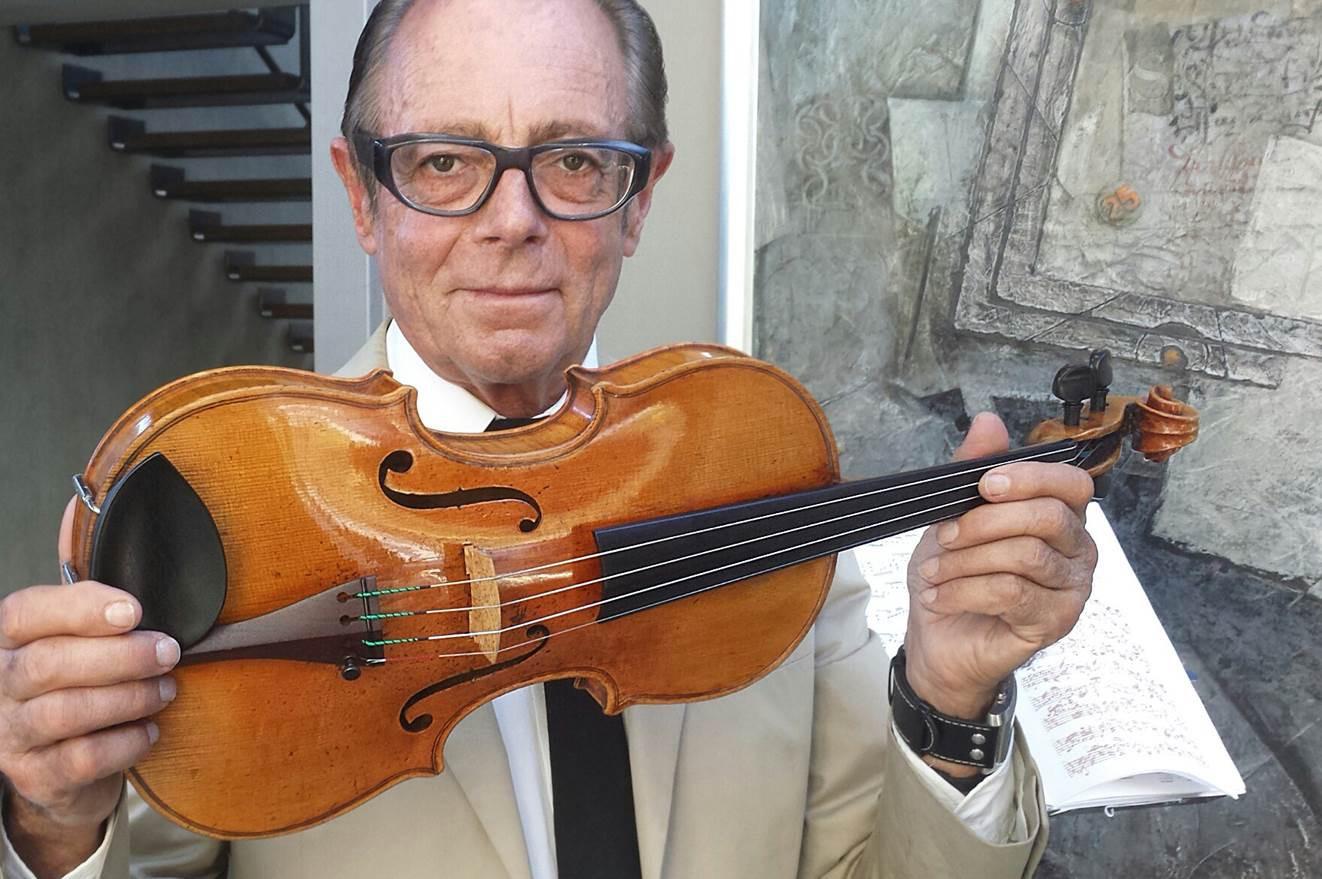 Sir Michael Hill's personal violin, Giovanni Battista Guadagnini, 1755 – The Southern Star. Photo: Supplied.