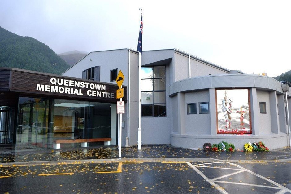 Queenstown Memorial Centre. Photo credit: Francis Vallance, 2014.